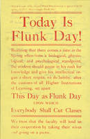 Today is Flunk Day! (ca. 1975)