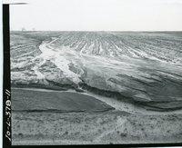 Erosion after rain