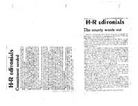 H-R Editorials