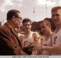 Drake Relays, 1961, Joe E. Brown