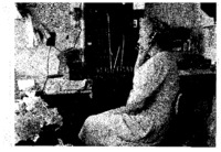 Photograph of Telephone Operator Edna or Peg Anderson