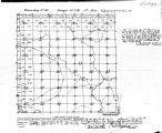 Iowa land survey map of t087n, r001w