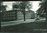 North-east view of the Main Library, the University of Iowa, 1952