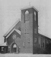 St. Joseph's Catholic Church in Garnavillo, Iowa -1977