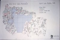 Iowa Great Lakes Watershed - Spirit Lake Hydric Soils Map.