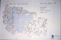 Iowa Great Lakes Watershed - Spirit Lake Hydric Soils Map.