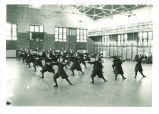 Women's wand class in Halsey Hall, The University of Iowa, April 14, 1920