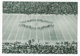 Scottish Highlanders performing at Kinnick Stadium, The University of Iowa, 1970s