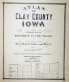 Atlas of Clay County, Iowa