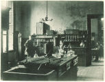 Pharmacy lab, The University of Iowa, 1910
