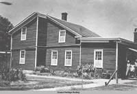 Communal residences orginally built as wash house, Amana, Iowa, circa 1931
