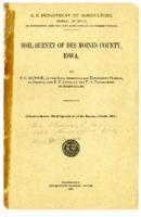 1925 - Soil Survey of Des Moines County