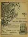 Iowa Seed Company Catalog 1903 Second Edition