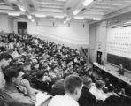 Chemistry class, 1954