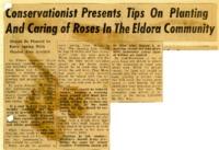 Conservationist presents rose care tips in Eldora.