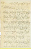 17. Gen. Samuel R. Curtis to Lincoln on Curtis' military conduct and potential for promotion