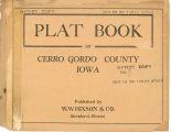 Plat book of Cerro Gordo County, Iowa