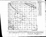 Iowa land survey map of t073n, r014w
