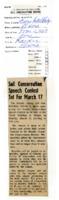 Soil conservation speech contest set for March 17.
