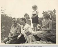 Burden Family portrait