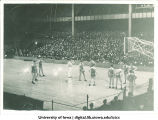 Iowa basketball game, The University of Iowa, 1930s?