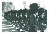 Scottish Highlanders on European trip, The University of Iowa, June 29, 1964