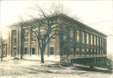 Trowbridge Hall under construction, The University of Iowa, 1915