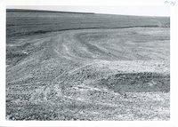 Erosion control dam and diversion terrace on Erwin Jepsen farm, 1966