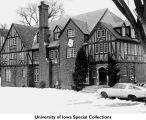 Phi Delta Theta Fraternity house, Iowa City, Iowa, between 1967 and 1970