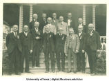 25th reunion of 1881 law school class, The University of Iowa, 1906