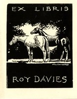 Roy Davies Bookplate