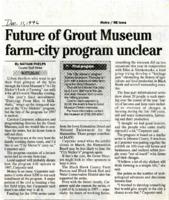Grout Museum Farm-City Program