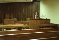 Cherokee County courtroom.