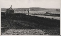 Shaping Terraces on Lester Perdue's Farm.