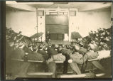 Lecture room in zoology annex, The University of Iowa 1900s