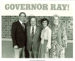 Gov. Robert Ray, Marvin Pomerantz, Billie Ray, and Mary Louise Smith, September 1, 1978