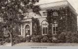 Oskaloosa Public Library, early 1900's; Mahaska County; Iowa