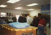 1996 - Six attendees at the 50th anniversary open house of the Des Moines County Soil and Water Conservation District