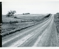 Conservation road structure before construction, 1965
