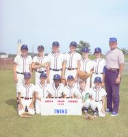 Clinton Jr. Baseball 1974