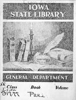 Iowa State Library bookplate