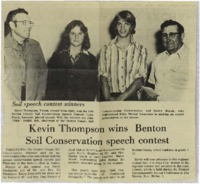 Benton Soil Conservation Speech Contest