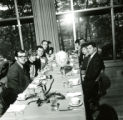 Members of the Class of 1964 at the Homecoming Banquet, 1969