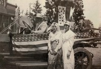 Garnavillo Parade Women - 1918 July