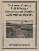 Dickinson County Soil Conservation District Annual Report - 2000.