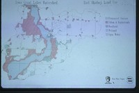 Iowa Great Lakes Watershed - East Okoboji Land Use Map.