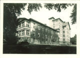 Ivy-covered East Hall, the University of Iowa, September 1929