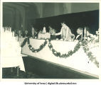 Old Captol anniversary banquet, The University of Iowa, ca. 1940s