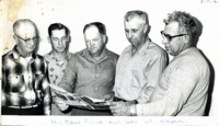 Jackson County SWCD commissioners, 1961