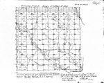 Iowa land survey map of t095n, r015w